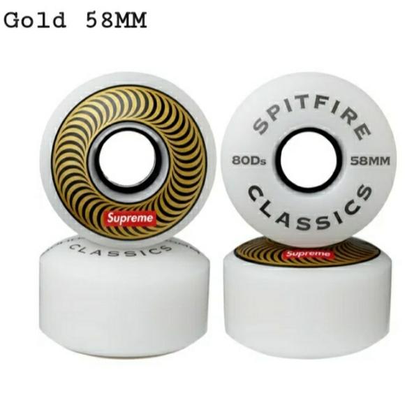 SOLD supreme Spitfire skateboarding wheels